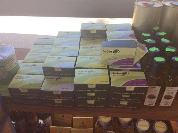 ガリラヤ湖のほとりのお店で購入した石鹸