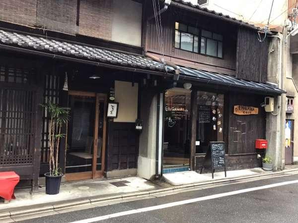 京都のえんがわカフェの外観