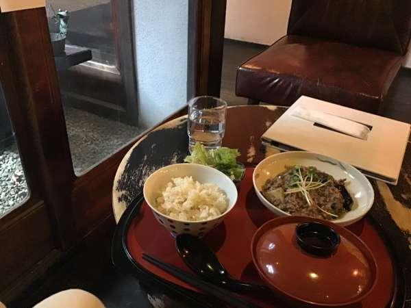 京都のえんがわカフェのランチ