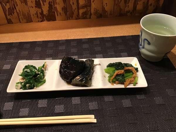 京都のいけまさ亭の野菜を使ったおつまみ