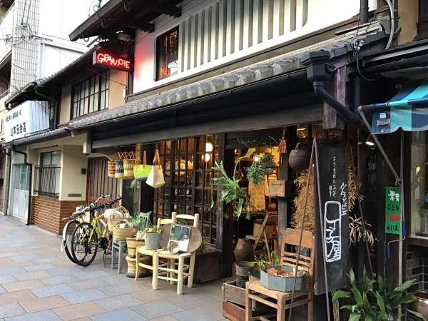 京都の寺町通りのグランピエの外観