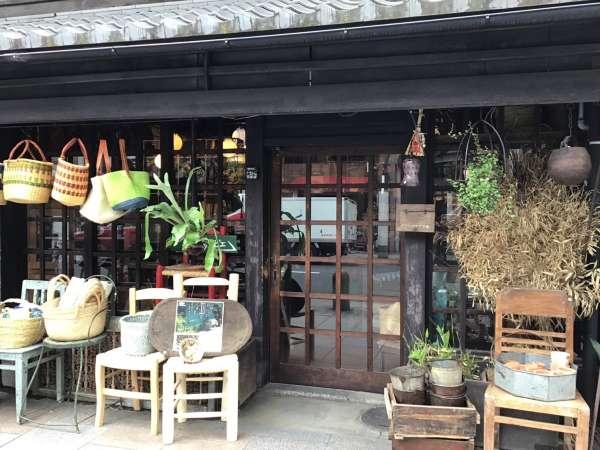 京都寺町通りのグランピエの外観
