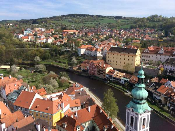 チェコの可愛い街・チェスキークルムロフもおすすめ