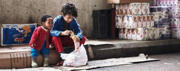 映画「存在のない子供たち」のワンシーン