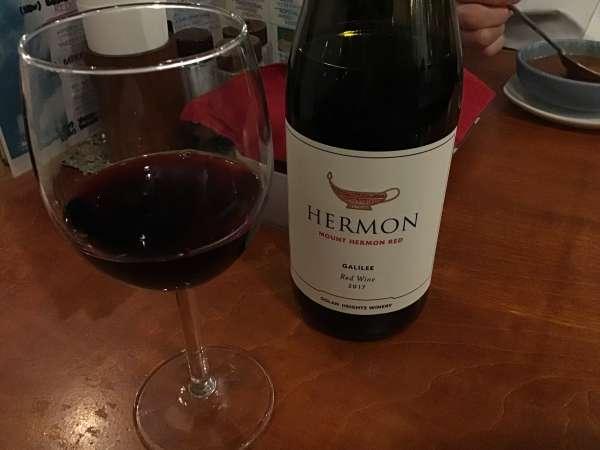 江古田にあるシャマイムの赤ワイン