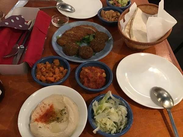 江古田シャマイムのディナー