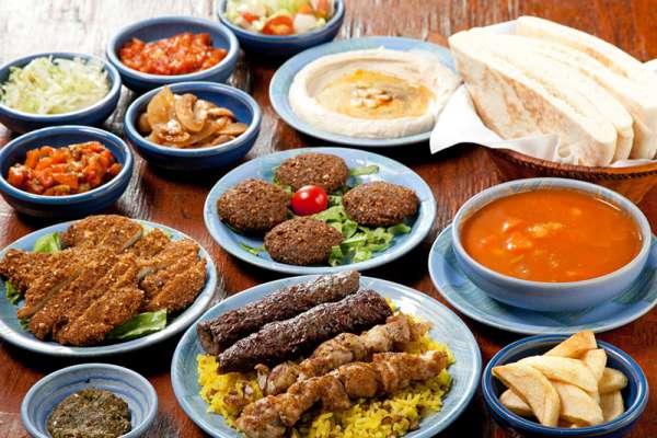 江古田にあるシャマイムの食べ放題コース