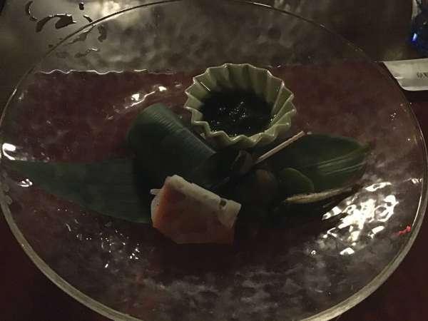 京都の富美屋のコース料理のおしゃれな料理