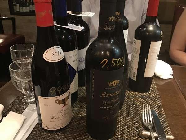 湯島のブテイユの赤ワイン