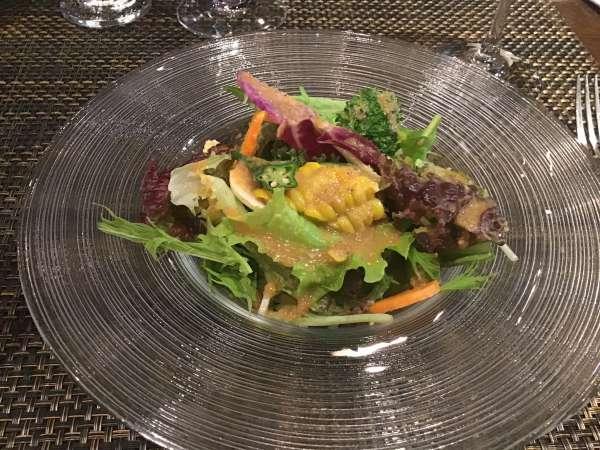 湯島のブテイユのサラダ