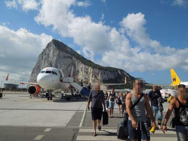 ジブラルタルの空港