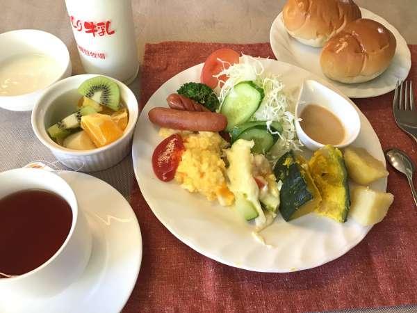 アニマの里の朝食