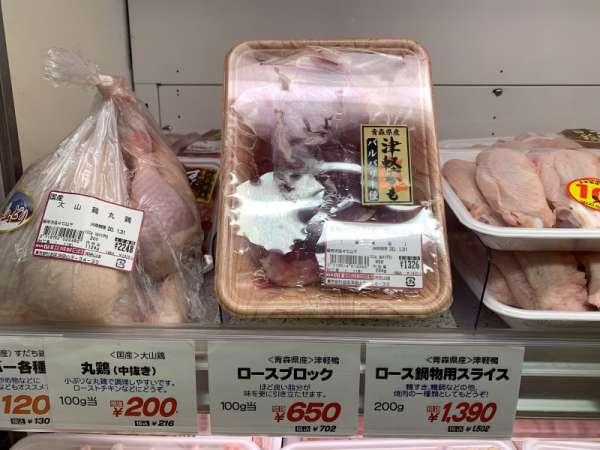 成城石井で売られている鴨肉