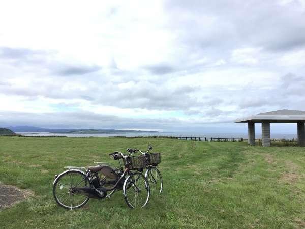 サイクリングで使った自転車