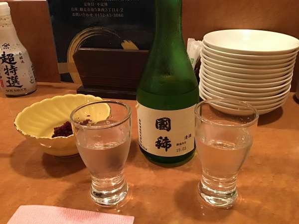網走のふか井の日本酒
