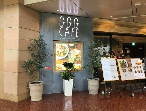 gggcafeの外観
