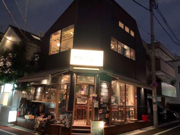 目黒川沿いのカフェ