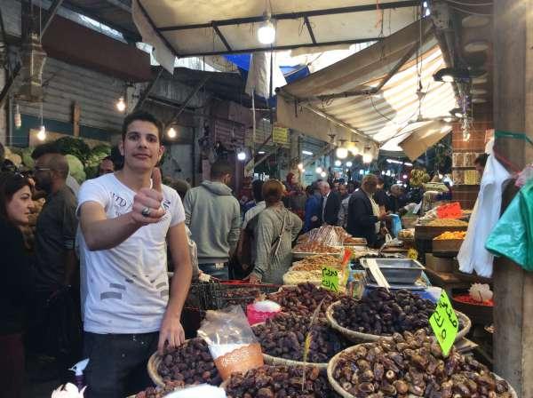 ラマダン中の市場
