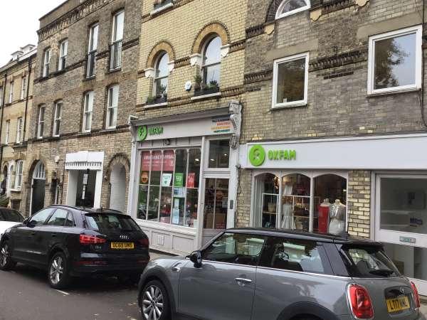 Oxfam Hampsteadの外観