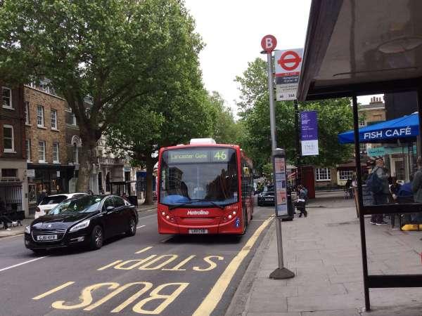 46番のバス