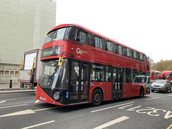 ロンドンのバス