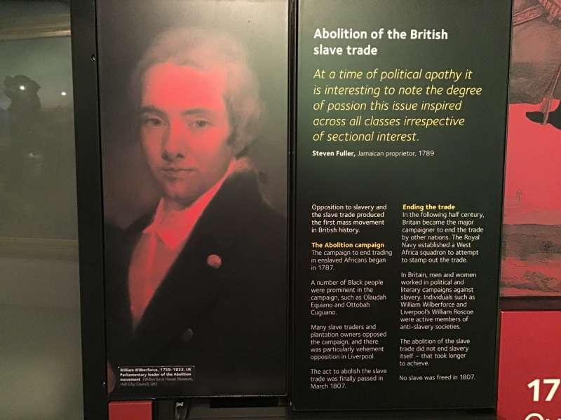 ウィリアム・ウィルバーフォースの展示物