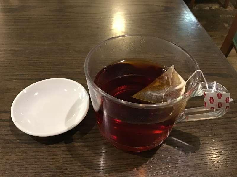 吉祥寺リンデの紅茶