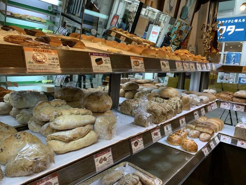 吉祥寺リンデのパン