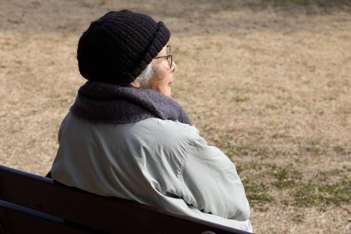 ひとりぼっちの高齢者