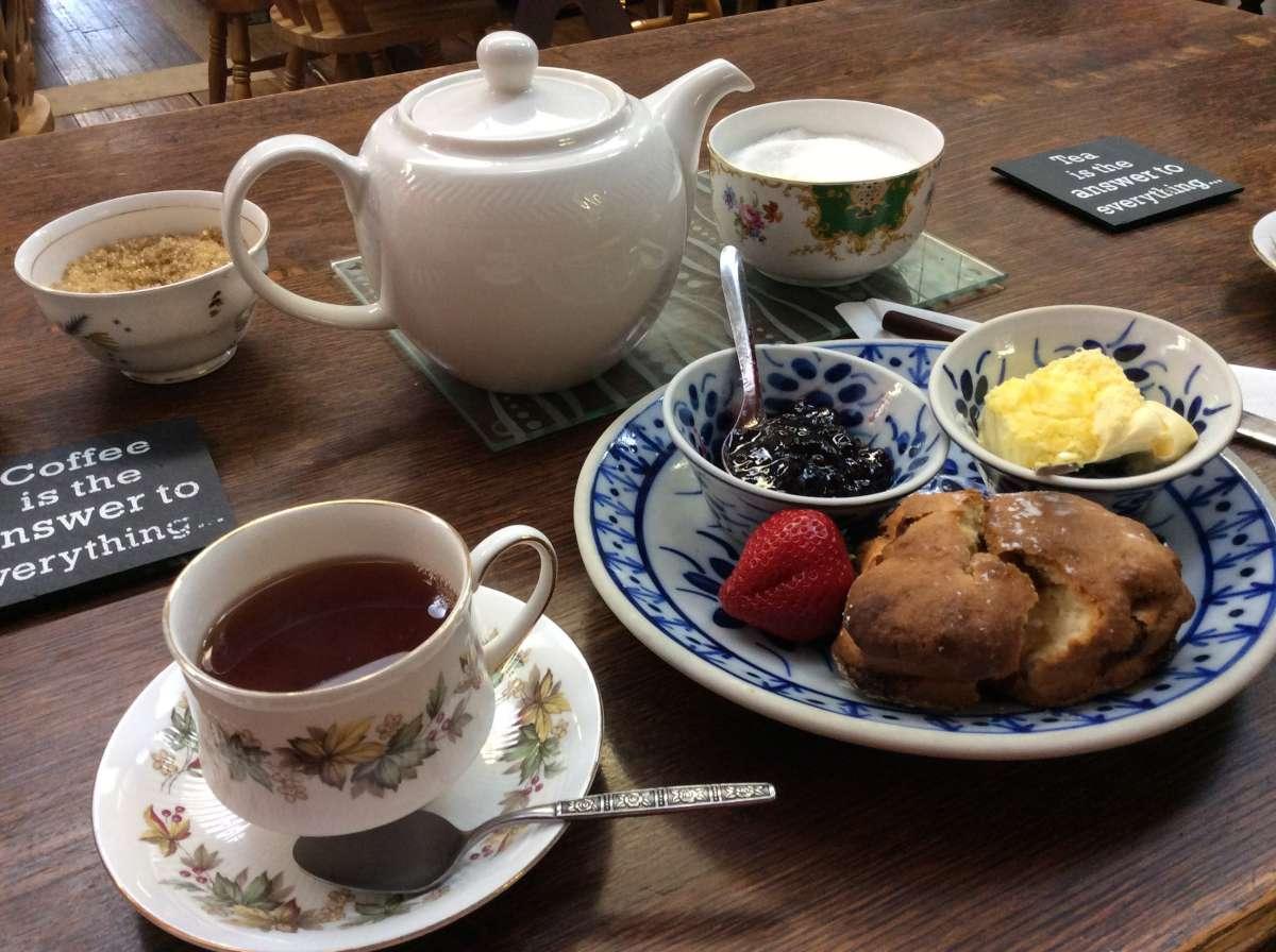 ロンドンの紅茶
