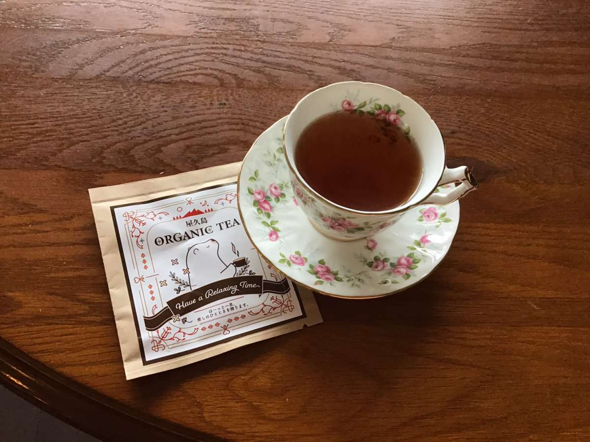 屋久島八万寿の紅茶