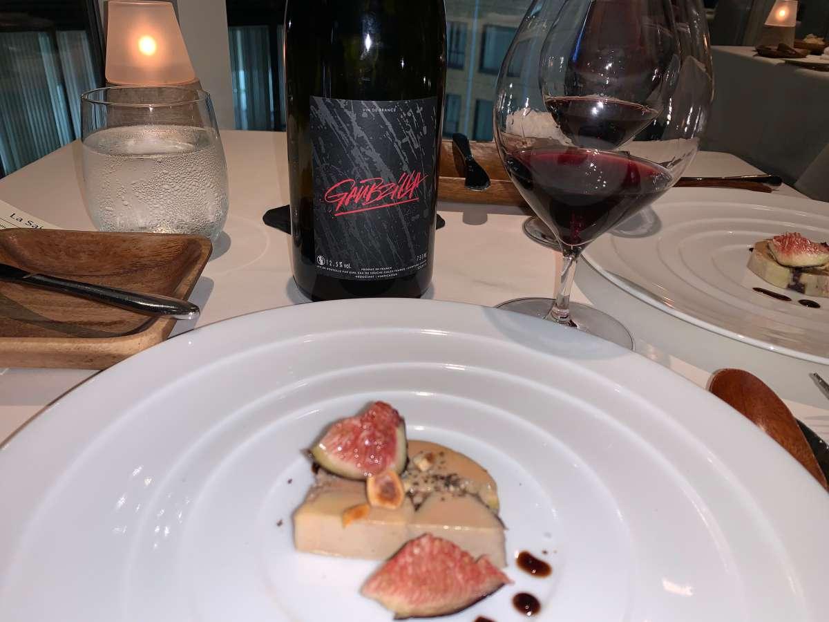 フォアグラとワイン