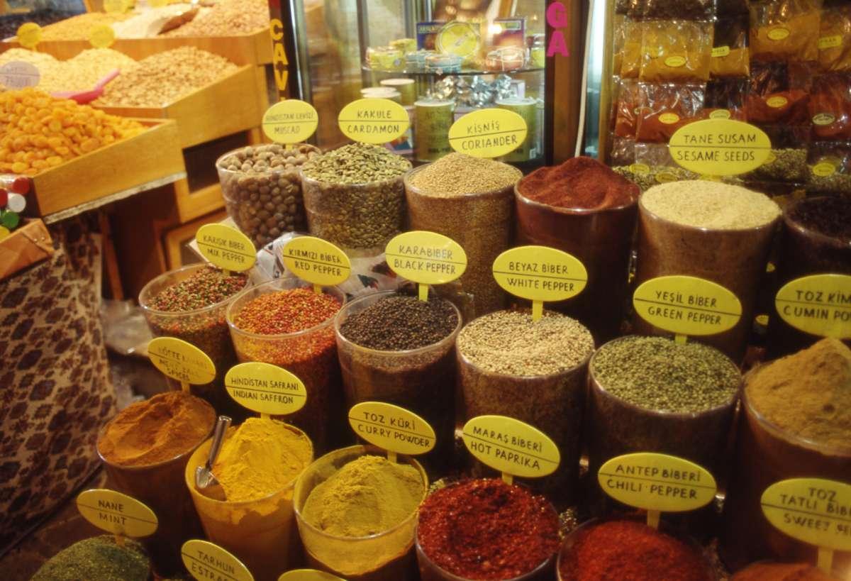 トルコ料理のスパイス