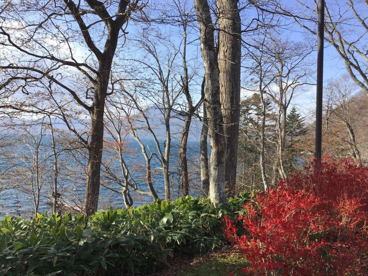 一人旅で訪れた北海道の湖