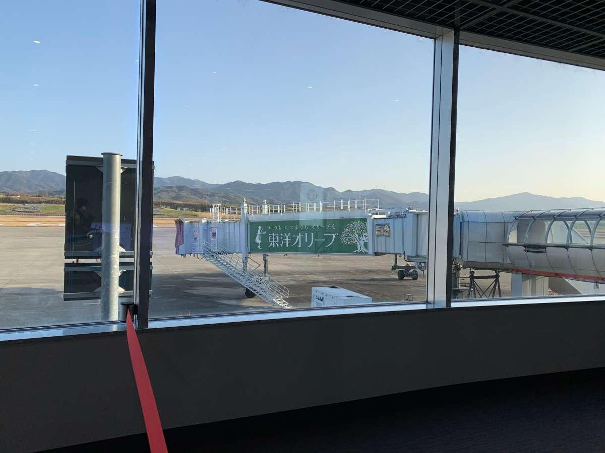 空港の東洋オリーブ広告